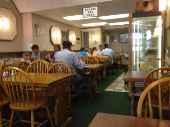 Barnacles Chip Shop: Barnacles interior
