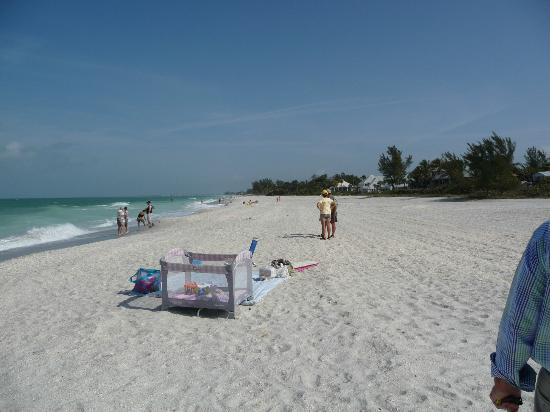 Gasparilla Island State Park: The beaches are never crowded.  This photo was taken during Spring Break week.
