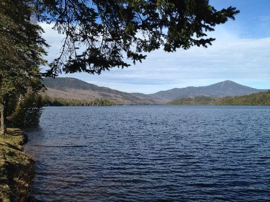 Lake Placid Lodge: Sunny day view