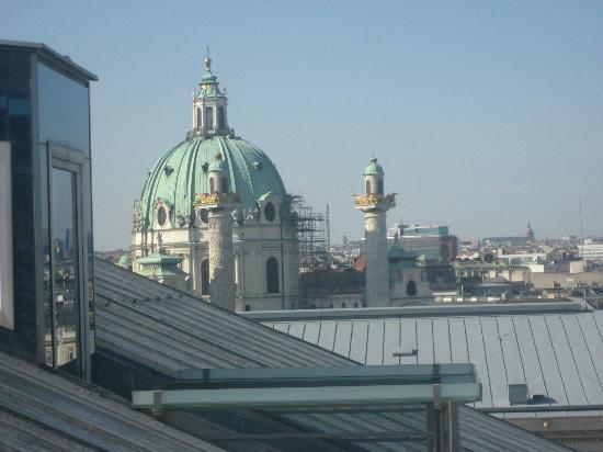 Hotel Imperial Vienna: vue balcon 1