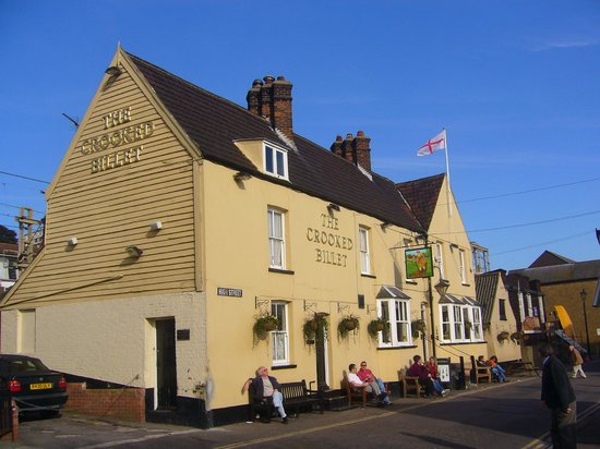 Leigh-on Sea, UK: The Crooked Billet!