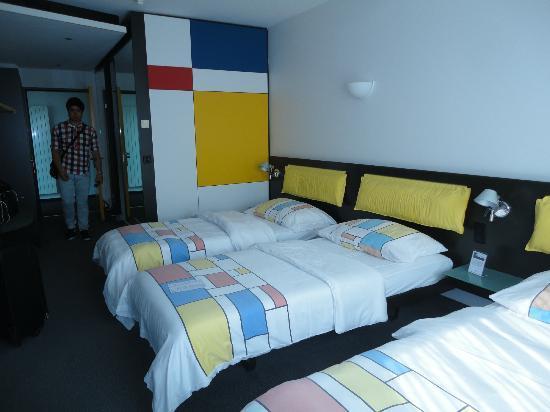 Hotel Allegra: Grandes y comodas las habitaciones