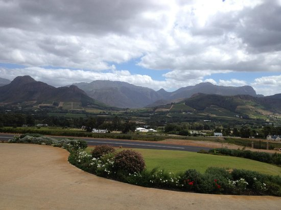 Kommetjie, África do Sul: View from winery