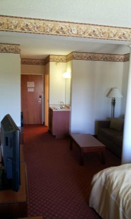 Comfort Suites: Inside my room