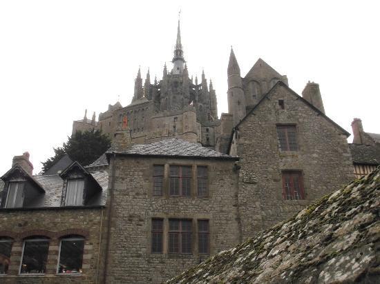 L\'intérieur du Mont - Picture of Abbaye du Mont-Saint-Michel, Mont ...
