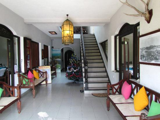 Ridee Villa: Reception Area and Lounge