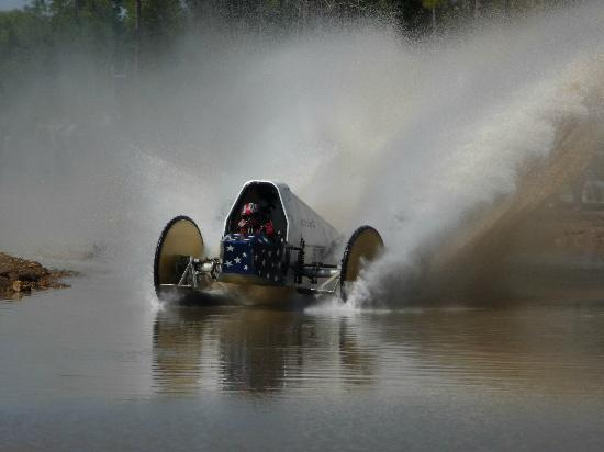 Swamp Buggy Races: Making waves