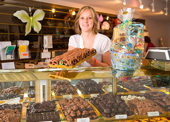 Hermitage, Pennsylvania:: Mention TripAdvisor and receive a free chocolate sample