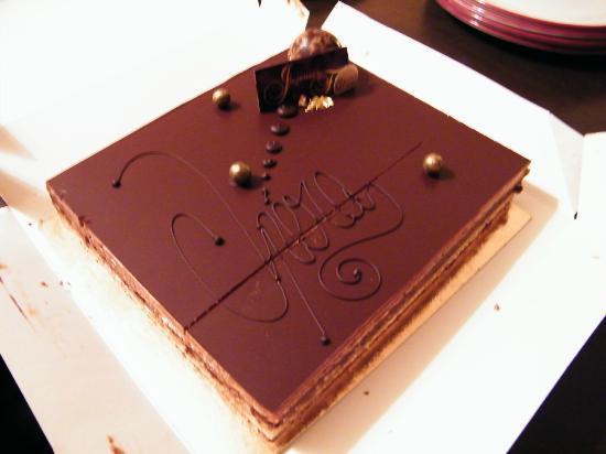 Gosselin: Torta al cioccolato
