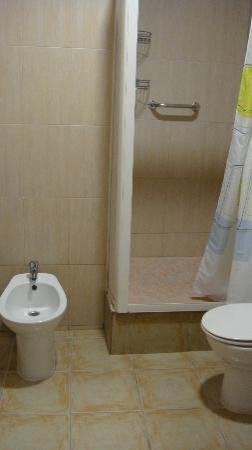 Hostal Tartessos : Private toilet