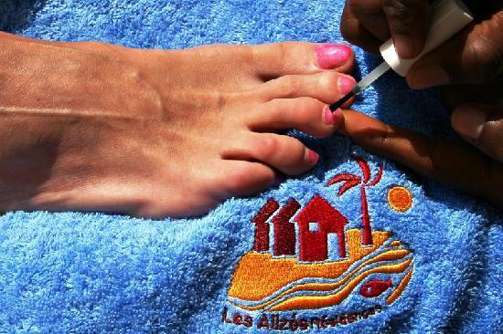 soins du corps picture of les alizes beach resort cap skiring tripadvisor. Black Bedroom Furniture Sets. Home Design Ideas