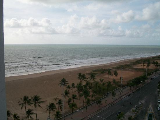 Boa Viagem Praia Hotel : Vista praia de Boa Viagem - Décimo primeiro andar.
