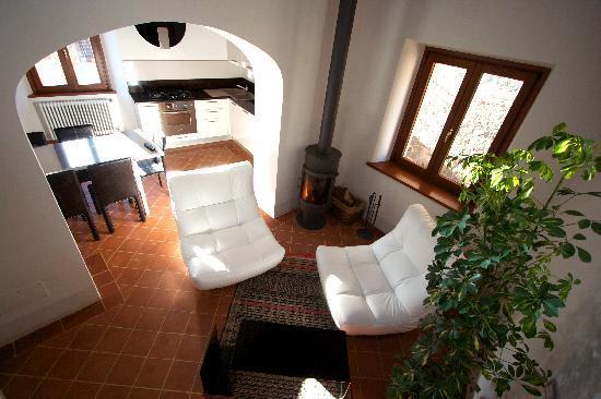 La CoCCa Charming House : Soggiorno