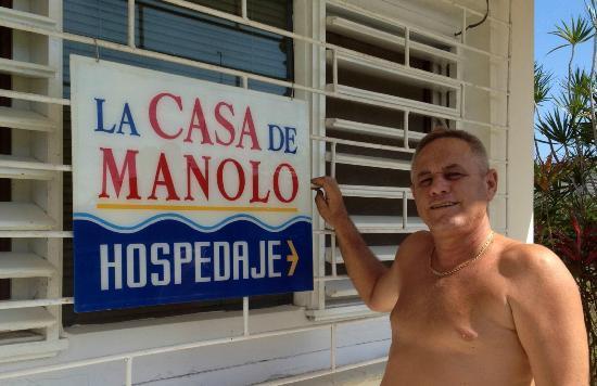 La Casa de Manolo - Casa Claumar: our friend Manolo