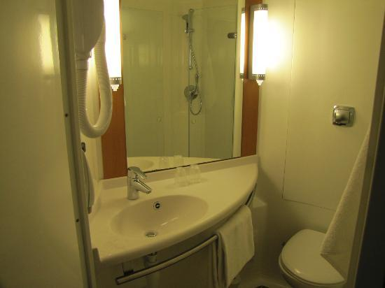 Hotel Ibis Golfe de Saint Tropez : Bathroom