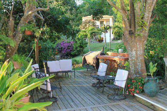 Oreanda : Grill near pool with outdoor furniture