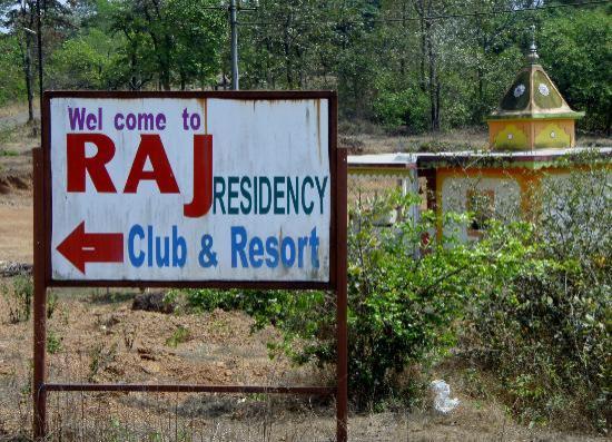 Kudal, Inde : signage