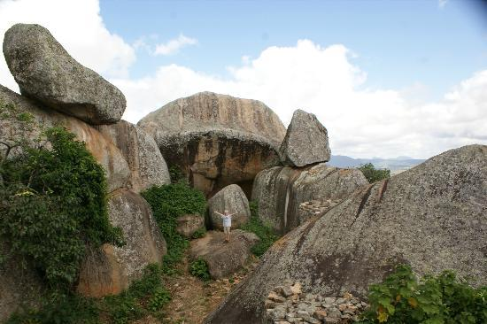 Great Zimbabwe: On top of the hill