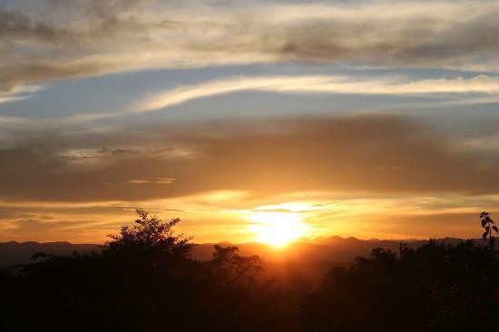 Mbeya, Tanzanie : sunset