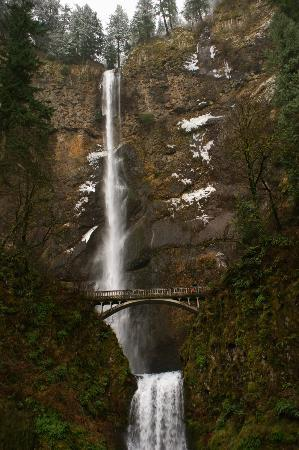 Bridal Veil, OR: Multnomah Falls