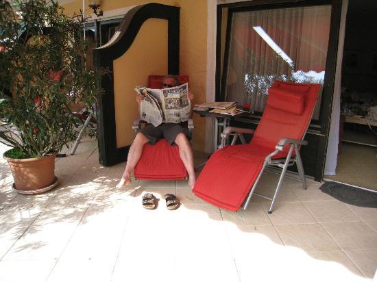 Schwarzmatt Hotel: terasse