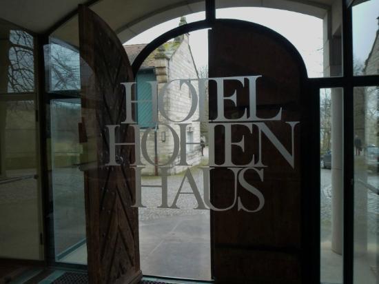 Hotel Hohenhaus: Eingang