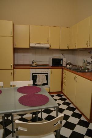 Animation City Hostel : Kitchen