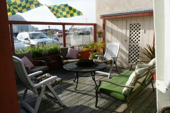 Bayfront Inn: Two little decks are perfect for daytime and nightime veiws & hanging out with family & firends.