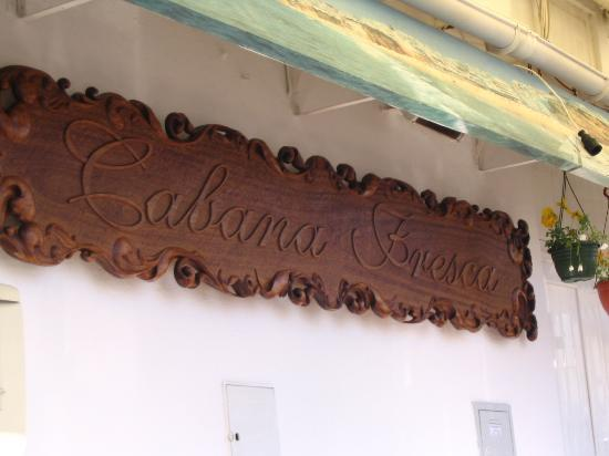 Cabana Fresca Restaurant : Don't pass by without stopping here :)
