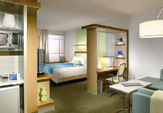 SpringHill Suites Philadelphia Valley Forge/King of Prussia: Studio Suites Living Room Area
