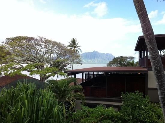Paradise Bay Resort Hawaii: Breakfast with a View