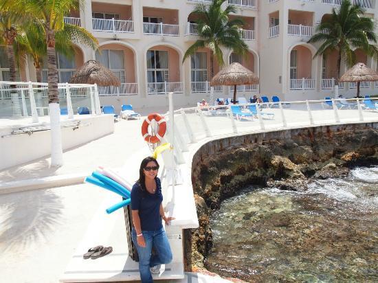 Cozumel Palace Beach Area And Ocean Access