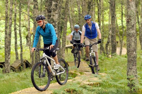 Glenmore Lodge: Mountain Biking in the Grounds