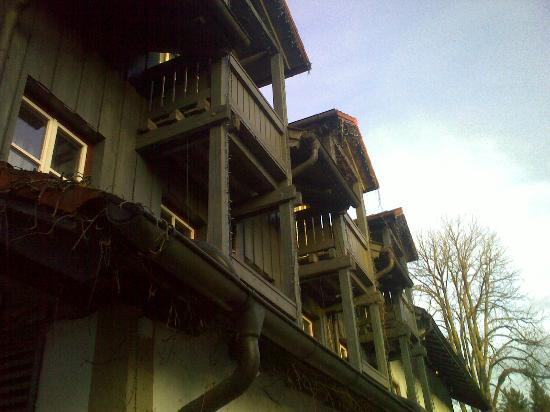 Landgasthof & Hotel Forstwirt: Main front of hotel