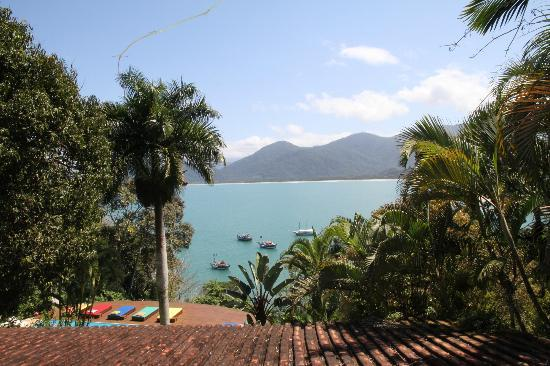 Pousada Picinguaba: View from the pool