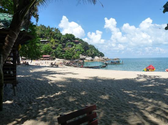 Mai Pen Rai Bungalows: Blick vom MaiPenRai-Restaurant