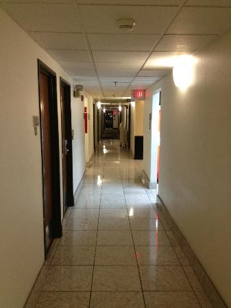 Comfort Inn Nashville/White Bridge: the hallway with our rooms
