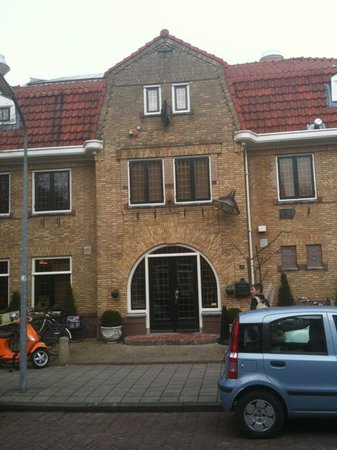 Sauna van Egmond : Main entrance - unassuming!