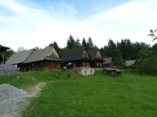 Wallachian Open Air Museum: Wallachian museum - village part
