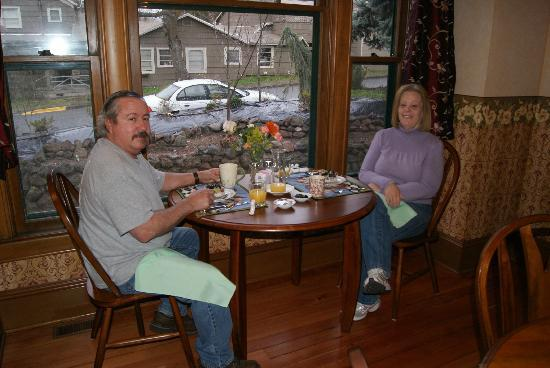 Abigail's Bed and Breakfast Inn: Breakfast at the Inn