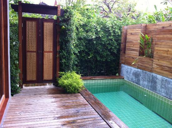 Tango Luxe Beach Villa: piscina privata