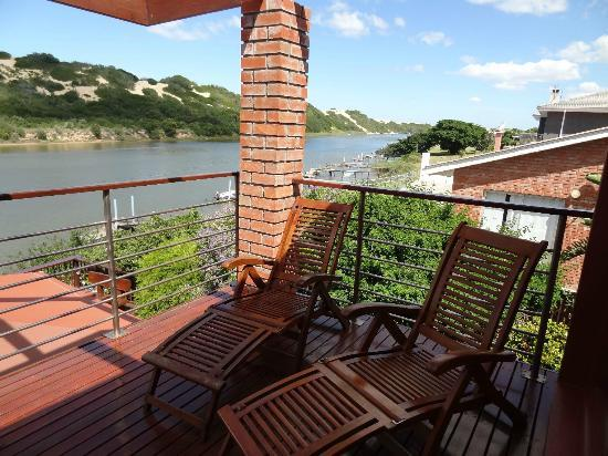Dungbeetle River Lodge: Aussicht Afrika Suite