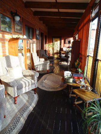 Dungbeetle River Lodge: Leseraum