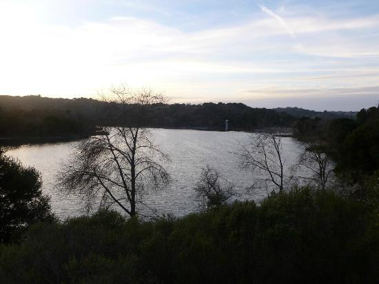 Lafayette Reservoir: view along the path