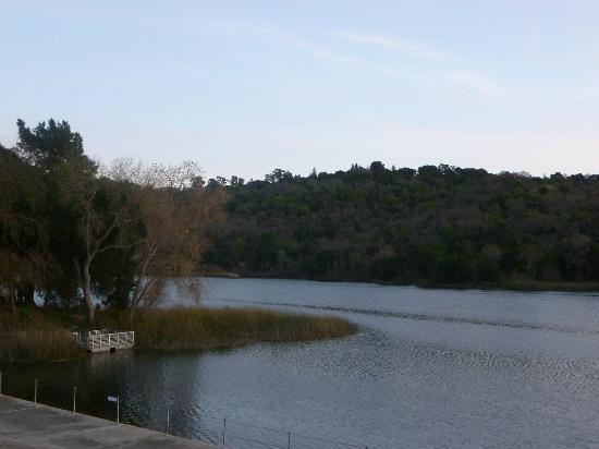 Lafayette Reservoir: view of the water