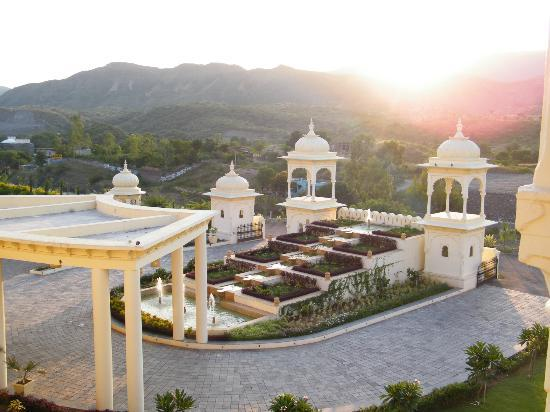 Club Mahindra Udaipur: another view from my room