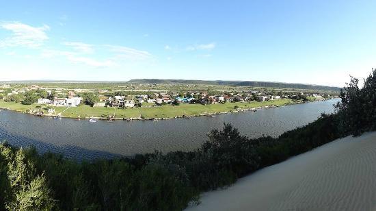 Dungbeetle River Lodge : Dünen Impression (gleich über den Fluss)