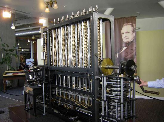 Mountain View, Kalifornien: Charles Babbage's Difference Engine