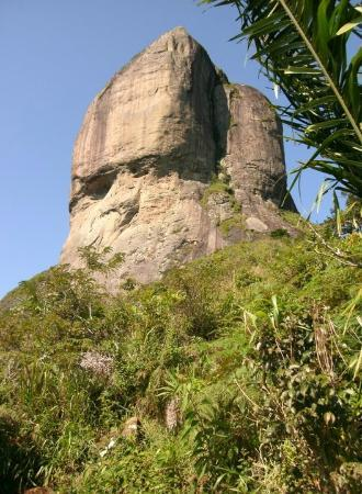 Pedra da Gávea: half-way up