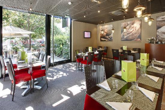 Mercure Grenoble Centre Alpotel: Restaurant Café Pourpre